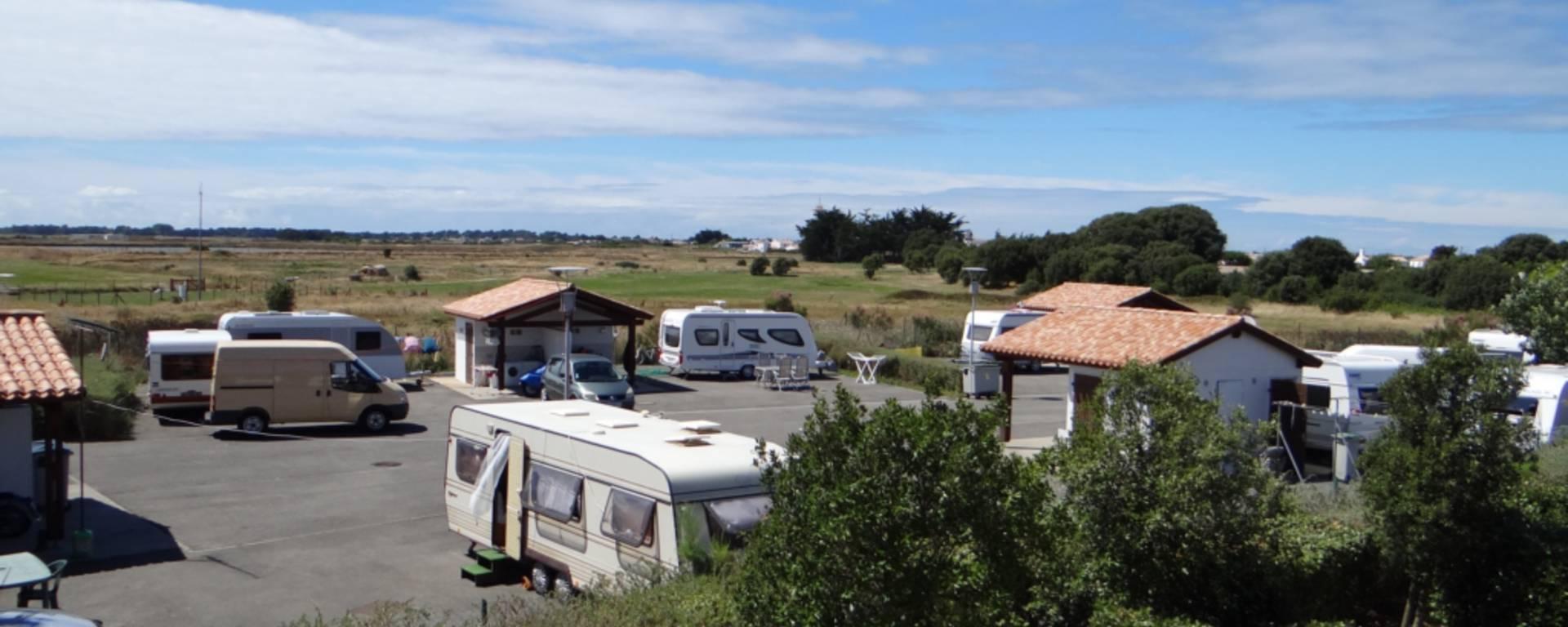 Ile de Noirmoutier, aire d'accueil