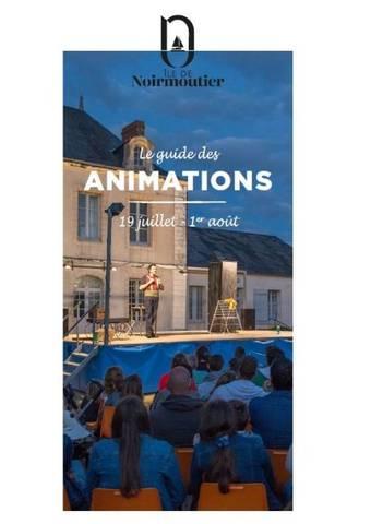Guide des animations - du 19 juillet au 1er août 2021