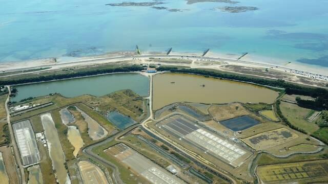 Photo aérienne Polder Sébastopol