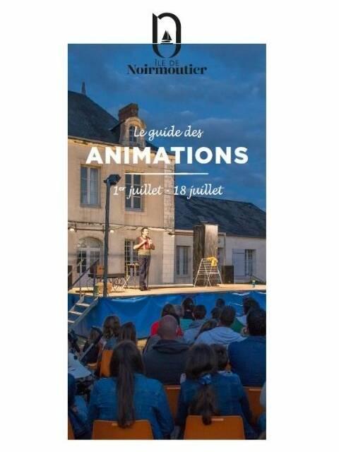 Guide des animations - du 1er au 18 juillet 2021