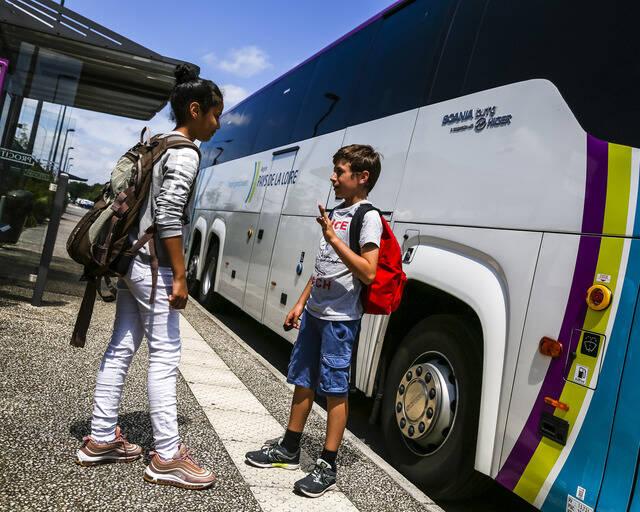 Reprise des transports scolaires