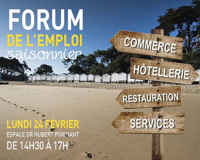Forum de l'emploi saisonnier