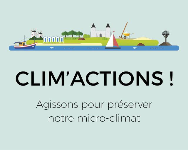 L'île de Noirmoutier lance son plan climat: Clim'actions !