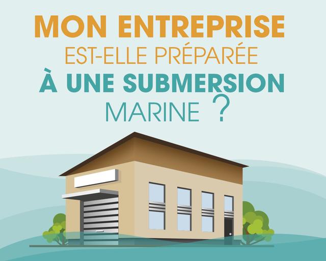 Mon entreprise est-elle préparée à une submersion marine ?