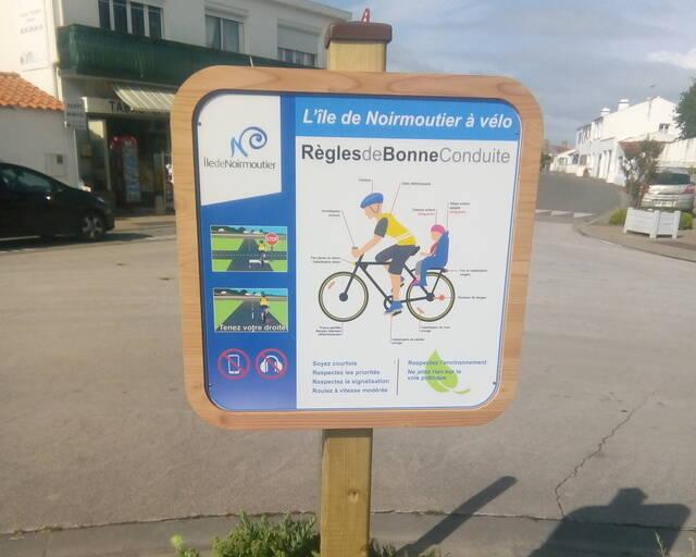 Renforcement de la signalétique des itinéraires cyclables