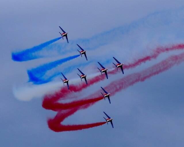 L'île de Noirmoutier accueille la Patrouille de France !