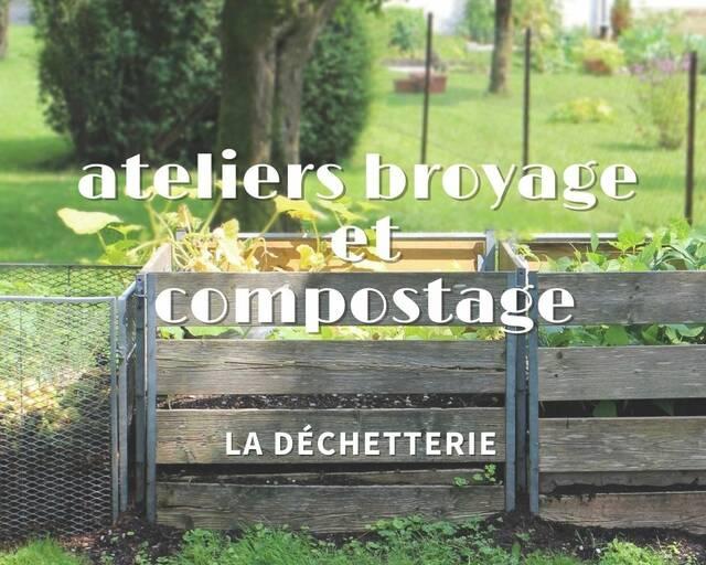 Ateliers broyage et compostage