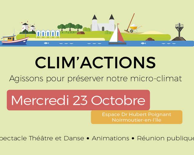 CLIM'ACTIONS Présentation du programme d'actions