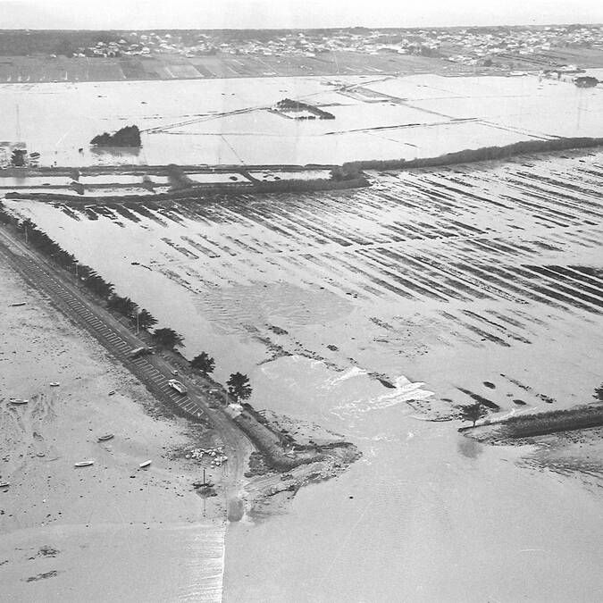1978 Inondation de la plaine de Barbâtre