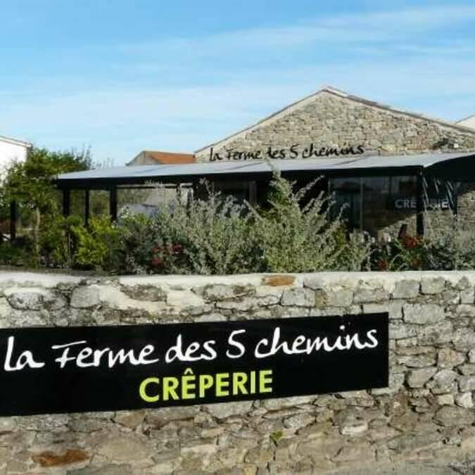 Crêperie la Ferme des 5 Chemins, Noirmoutier-en-l'île
