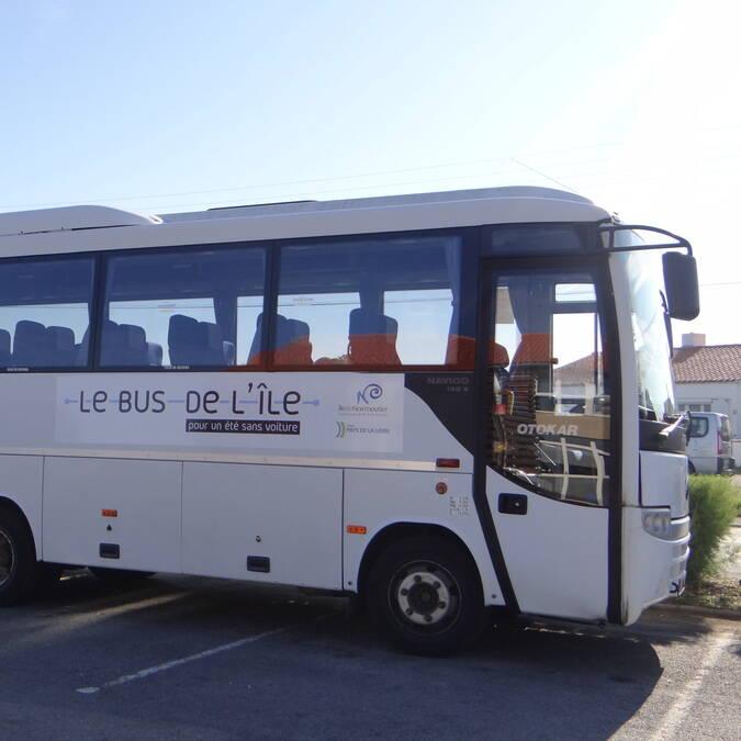 Bus de l'île, île de Noirmoutier