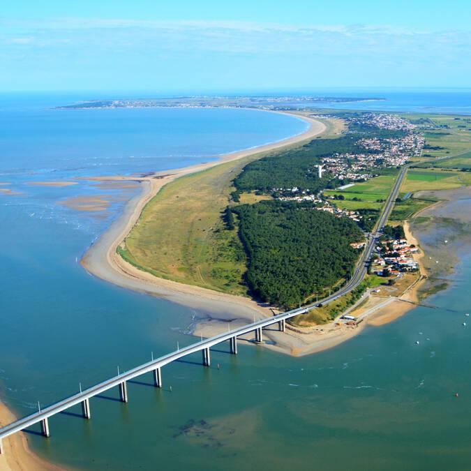 Le pont île de Noirmoutier